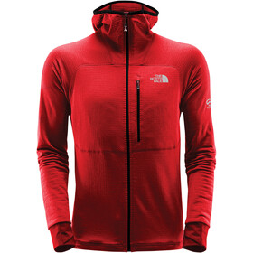 The North Face L2 Proprius Fleece Hoodie Jacket Herre fiery red